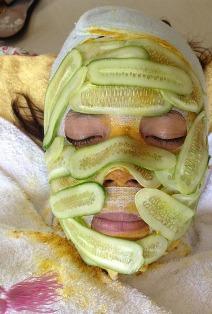 Cucumber Skin Mask