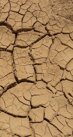 ground, dry, parched, desert, crack